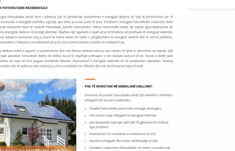 Solares – Solar Energy Solutions 12